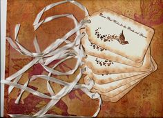Wedding   Wish    Tree   Tags by mslizz on Etsy, $20.00