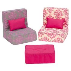 Our Generation Dollhouse Furniture - Living Room Set - I could make these!