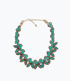 Image 2 of NECKLACE WITH PAISLEY SHAPES from Zara