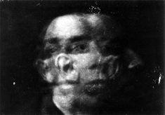 Anton Bragaglia self-portrait, Italian futurist photographer and film maker, Monochrome Photography, Abstract Photography, Fine Art Photography, Smoke Photography, A Level Photography, Portrait Photography Tips, Awsome Pictures, Art Occidental, Grunge Art