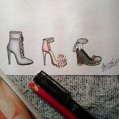 #draw #drawing #fashion #love #fashionIllustration #Illustration #croqui #inlove #art #shoes #sandal #lookoftheday #lookdodia #designdemoda #fashiondesign #moda #fashion4arts #desenhando #desenho #handmade