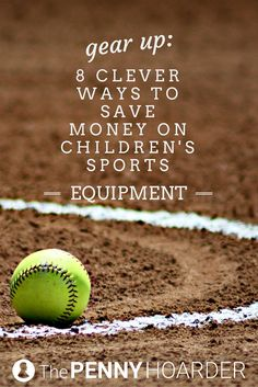 Finding sports equipment for children can be a challenge on a budget. Use these strategies to save money on the gear your kids need, from tracking down used sports equipment to working with other parents to buy balls in bulk. - The Penny Hoarder http://www.thepennyhoarder.com/save-money-on-sports-equipment-for-kids/