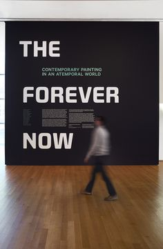 The Forever Now - The Department of Advertising and Graphic Design