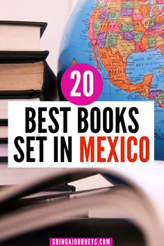 Before planning your next trip to Mexico, you may want to check out these 20 books set in the country! This list includes classics like Pedro Páramo by Juan Rulfo all the way to modern fictional books by Mexican authors, such as Gods of Jade and Shadow by Silvia Moreno-Garcia and Caramelo by Sandra Cisneros. | books about Mexico | books by Mexican authors | Mexican history books Mexico Vacation Outfits, South America Travel, North America, Sandra Cisneros, Mexico Destinations, Travel Guides, Travel Tips, Travel Reviews, Best Places To Travel