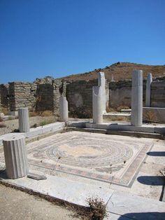 Delos Island, Cyclades, Greece - August 2011
