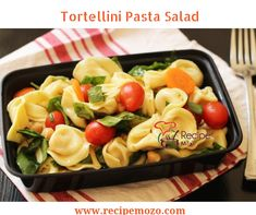 Tortellini Pasta Salad Recipe for an Easy Meal - Good Cheap Eats Healthy Dinner Recipes, New Recipes, Summer Recipes, Delicious Recipes, Fruit Salad Making, How To Cook Chili, Pasta Salad With Tortellini, Easy Cupcake Recipes, Organic Recipes