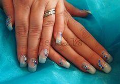 Mermaid Professional Nail Art, How To Do Nails, Gel Nails, Nailart, Finger, Mermaid, Beauty, Ideas, Gel Nail