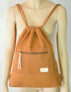 Your place to buy and sell all things handmade, Brown Leather Backpack, Leather Backpacks, Sack Bag, Boho, Tote Bags, Duffle Bags, Messenger Bags, Leather Purses, Tuto Sac