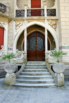 Art Nouveau. Villa Conti, Civitanova Marche, Italy.