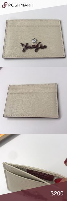 6fbc7e40aae Jimmy Choo card wallet Jimmy Choo card wallet - brand new - never used -  genuine