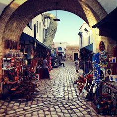 The Medina of Hammamet.. My next holiday!