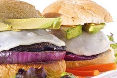 Labor Day Portabella Mushroom Burgers on the Grill