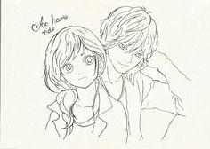 Yoshioka and Kou - Ao haru ride by Syntry.deviantart.com on @DeviantArt