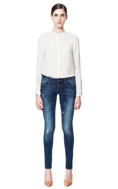 Image 1 of SUPER STRETCH SKINNY JEANS from Zara