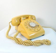Mid Centuy Rotary Dial Telephone