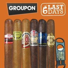 Hurry Up! Gotham Cigars 6-Pack Spring Variety Sampler with Cigar Cutter for just $19.99 now available at Groupon. GO-> http://www.groupon.com/deals/gg-gotham-cigars-6-pack-sampler #cigar #cigars #cigarlife #smoke #cigardeals #cigarcoupon #onlinedeals #deals #6pack #6packcigar #springvariety #springvarietycigars #groupon #groupondeal #gothamcigars #premiumcigars #botl #sotl