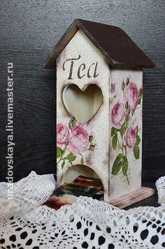 """Декупаж чайного домика - Мастер-класс + галерея чайных домиков - """"ЭЛектронный БИзнес в интернет"""""""