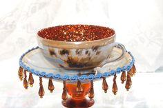 Vintage Hand Painted Japanese Tea Cup by SweetLittleFancies