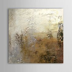 Oil Painting Abstract 1305-AB0639 Hand-Painted Canvas – USD $ 53.99