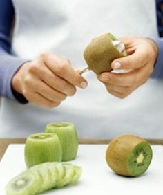 Aprenda a descascar o kiwi e a melancia!