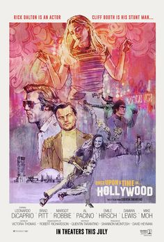 Once Upon A Time In Hollywood The film from Quentin Tarantino. Poster by Alphaville Design. Timothy Olyphant, Quentin Tarantino, 9 Film, Film Serie, Hollywood Poster, In Hollywood, Movie Poster Art, New Poster, Cinema