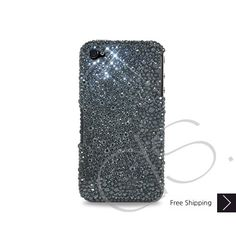 Anomaly Bling Swarovski Crystal iphone 5/5S and 5C Case - Black, Swarovski Phone Cases, Bling Phone Cases