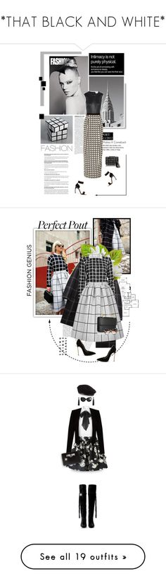 """""""*THAT BLACK AND WHITE*"""" by trudith ❤ liked on Polyvore featuring Maison Margiela, By Malene Birger, BCBGMAXAZRIA, Nicholas Kirkwood, MANGO, Band of Outsiders, Calvin Klein, Topshop, M2Malletier and STELLA McCARTNEY"""