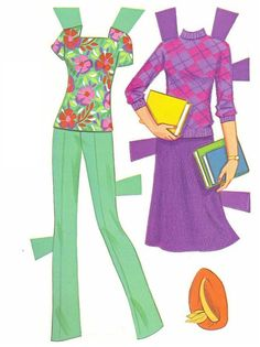 Paper Dolls~Twirly Curls Barbie - Bonnie Jones - Álbumes web de Picasa