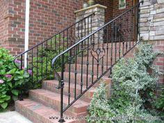 Durham NC custom wrought iron railings Raleigh Wrought Iron Co.