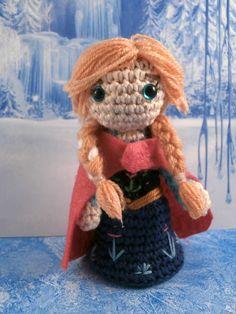 Anna from Frozen amigurumi Moñacos cosicas y meriendacenas