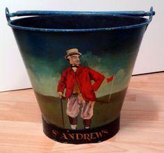 Rarität - antiker Eimer von St. Andrews in Sport, Golf, Vintage & Sammlerstücke | eBay
