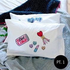 Bei Badgirl pillow case set - Kawaii as Fuck