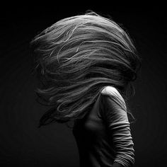 Movement is so stunning. (via Marc Laroche) #hair #blackandwhite #movement #photography
