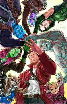 Marvel Comics Guardians of the Galaxy ✨ Marvel Jokes, Marvel Dc Comics, Marvel Heroes, Marvel Avengers, Captain Marvel, Gardians Of The Galaxy, Super Heroine, Images Disney, Marvel Drawings