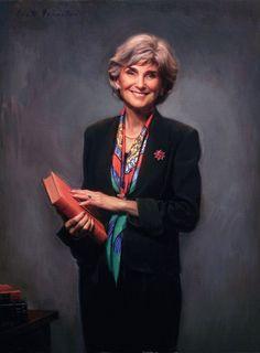 Woman's Portrait by Oil Portrait Artist Scott Wallace Johnston