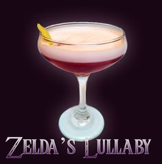 Zelda's Lullaby from The Drunken Moogle. Vote to see more drinks like this on Geek & Sundry.