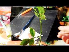 ▶ Стебель розы из холодного фарфора - YouTube