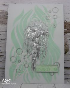 The Sweetest Of Peas Embossing Tool, Distress Ink, Things To Think About, Card Stock, Birthday Cards, Stencils, Stamp, Card Ideas, Bday Cards