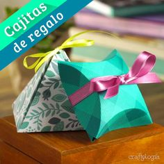 Easy Gift Boxes - These gift boxes are amazing; You can give some earrings, neckla - Cool Paper Crafts, Paper Crafts Origami, Diy Crafts For Gifts, Crafts For Kids, Diy Gift Pouches, Diy Gift Box, Gift Boxes, Origami Gift Box, Creative Gift Wrapping
