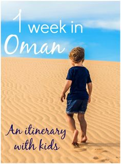 My week in Oman itinerary with kids - if you've got seven days for a family holiday in Oman, my tips on what to include from Muscat and the Sultan Qaboos Grand Mosque to Nizwa, the Jabrin Fort, Jebel Shams, bedouin camp and camels in Wahiba Sands, the dhows of Sur and turtles of Ras al Jinz plus some beach time and more #oman #omanwithkids #omanitinerary #middleeastwithkids #muscatwithkids #familyoman #weekinoman #omanholiday #mummytravels Image copyri