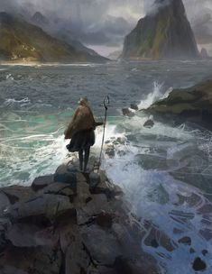 Shore by kristmiha (https://kristmiha.deviantart.com/art/Shore-707085745)