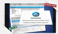 [File Pendidikan] Instrumen Supervisi Kepala Sekolah Terbaru Berupa Aplikasi Microsoft Excel Lebih Mudah Digunakan