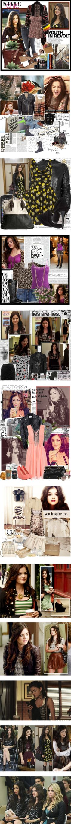 """ARIA MONTGOMERY ♥"" by seeda ❤ liked on Polyvore"