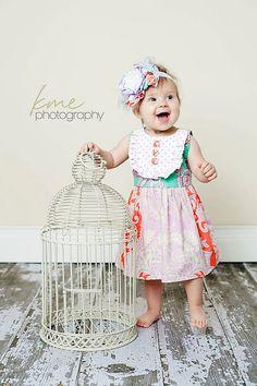 1a9df0835c4b Girls Spring Easter Dress -