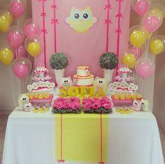 Ideas, decoración y manualidades para fiestas: Un lindo búho para decorar tu baby shower