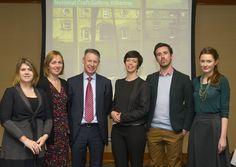 Ireland South East 2020 Bid Team. Karan Thompson, Annette Fitzpatrick, Michael Quinn - Bid Director, Katherine Collins - Bid Leader, Tom Fleming, Julie McGuirk.