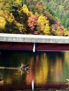Bridge over Clarion River on the way to Cook Forest.