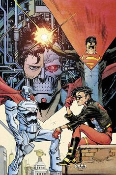 Superman Unchained #6 Variant - Sean Murphy i remember when i had this comic as a little kid