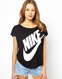 Image 1 ofNike Relaxed Logo T-Shirt