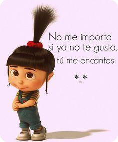 """Buenos días!! """"no importa si yo no te gusto, tú me encantas"""" ... #viernes - vía @Luna Garcia"""